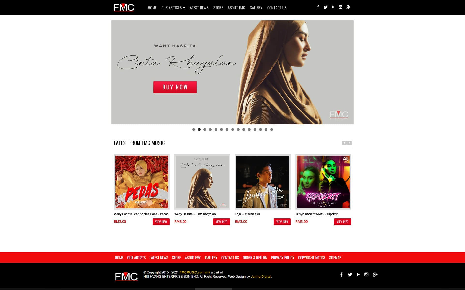 FMC Music - Malaysia Record Label