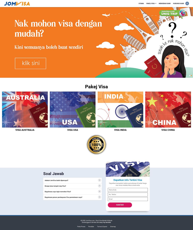 JomVisa - Kini Lebih Mudah Memohon Visa - Jom Visa
