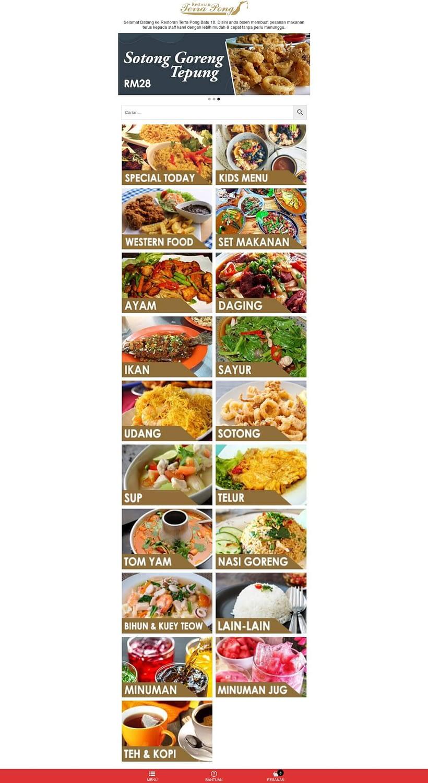 Restoran Terra Pong Batu 18