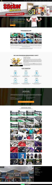 Team Cetak - Pusat Printing T-Shirt & Sulaman